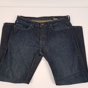 William Rast Button Fly 36 Jake Straight Jeans